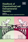 Cover Handbook of Organizational and Entrepreneurial Ingenuity