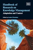 Cover Handbook of Research on Knowledge Management