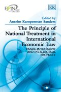 Cover The Principle of National Treatment in International Economic Law