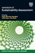 Cover Handbook of Sustainability Assessment