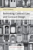 Cover Rethinking Contract Law and Contract Design