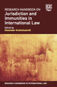 Cover Research Handbook on Jurisdiction and Immunities in International Law