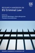 Cover Research Handbook on EU Criminal Law