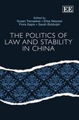 Cover The Politics of Law and Stability in China