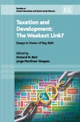 Cover Taxation and Development: The Weakest Link?