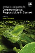 Research Handbook on Corporate Social Responsibility in Context