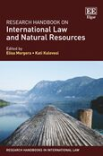 Cover Research Handbook on International Law and Natural Resources