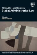 Cover Research Handbook on Global Administrative Law