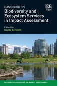 Cover Handbook on Biodiversity and Ecosystem Services in Impact Assessment