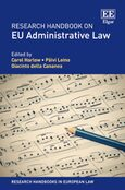 Cover Research Handbook on EU Administrative Law