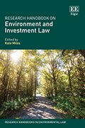 Cover Research Handbook on Environment and Investment Law