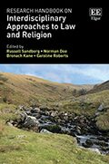 Cover Research Handbook on Interdisciplinary Approaches to Law and Religion