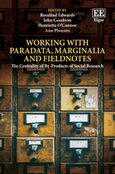 Cover Working with Paradata, Marginalia and Fieldnotes