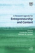 Cover A Research Agenda for Entrepreneurship and Context