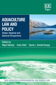 Cover Aquaculture Law and Policy