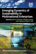 Cover Emerging Dynamics of Sustainability in Multinational Enterprises