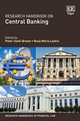 Cover Research Handbook on Central Banking