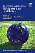 Cover Research Handbook on EU Sports Law and Policy