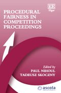 Cover Procedural Fairness in Competition Proceedings