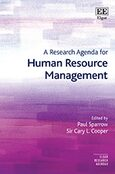 Cover A Research Agenda for Human Resource Management