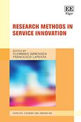 Cover Research Methods in Service Innovation