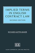 Implied Terms in English Contract Law, Second Edition