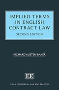 Cover Implied Terms in English Contract Law, Second Edition