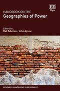 Cover Handbook on the Geographies of Power