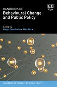 Cover Handbook of Behavioural Change and Public Policy