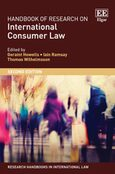 Cover Handbook of Research on International Consumer Law, Second Edition