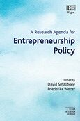Cover A Research Agenda for Entrepreneurship Policy