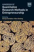 Cover Handbook of Quantitative Research Methods in Entrepreneurship