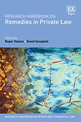 Cover Research Handbook on Remedies in Private Law