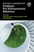 Cover Research Handbook on Employee Pro-Environmental Behaviour
