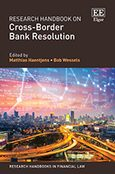 Cover Research Handbook on Cross-Border Bank Resolution