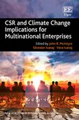 Cover CSR and Climate Change Implications for Multinational Enterprises