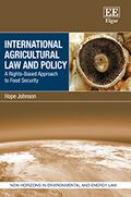Cover International Agricultural Law and Policy
