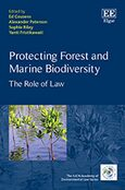Cover Protecting Forest and Marine Biodiversity
