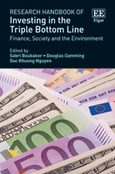 Cover Research Handbook of Investing in the Triple Bottom Line