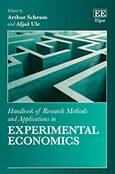 Cover Handbook of Research Methods and Applications in Experimental Economics