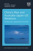 Cover China's Rise and Australia–Japan–US Relations
