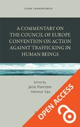 Cover A Commentary on the Council of Europe Convention on Action against Trafficking in Human Beings