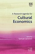 Cover A Research Agenda for Cultural Economics