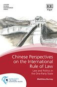Cover Chinese Perspectives on the International Rule of Law