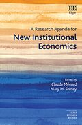 Cover A Research Agenda for New Institutional Economics