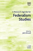 Cover A Research Agenda for Federalism Studies