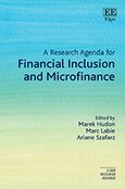 Cover A Research Agenda for Financial Inclusion and Microfinance
