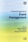 Cover A Research Agenda for Event Management
