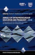 Cover Annals of Entrepreneurship Education and Pedagogy – 2018