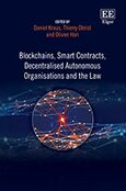 Cover Blockchains, Smart Contracts, Decentralised Autonomous Organisations and the Law